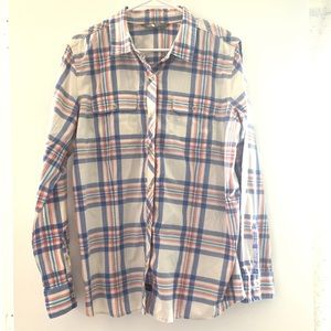 The North Face Plaid Top